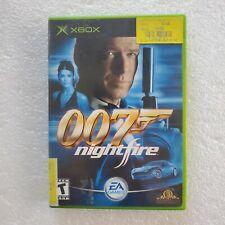 007: NightFire (Microsoft Xbox)  MAIL TOMORROW! JAMES BOND Free Shippin