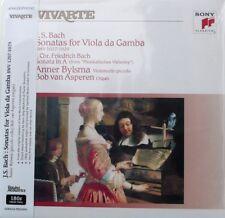 Bach Sonatas Anner Bylsma Analogphonic S80703p Vivarte