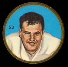 1963 CFL NALLEY'S FOOTBALL SP COIN #53 Geno Denobile Hamilton Tiger Cats