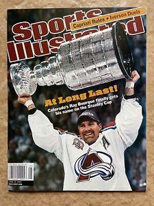 Sports Illustrated SI NO LABEL Ray Bourque Colorado Avalanche June 18, 2001