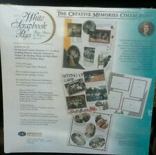 Creative memories 12x12 white  refill Pages Nip!