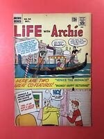 LIFE WITH ARCHIE #32 Archie & Gang rock old, romantic Venice! Silver Age 1964