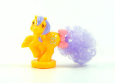 007 My Little Pony ~*Ponytail Petite Light Orange with Purple Hair GORGEOUS!*~