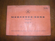 Mercedes-Benz w 107  SL Teile-katalog