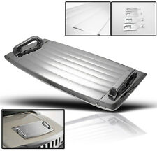 06-10 HUMMER H3 HOOD DECK VENT PANEL HANDLE COVERS TRIM MOULDING ABS CHROME 3PCS