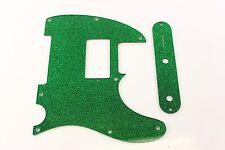 Green Sparkle humbucker pickguard +control plate set Fits Fender Tele Telecaster