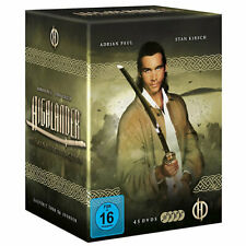 HIGHLANDER Complete TV Series 1-6 45 DVD Box Set R2 Adrian Paul 1,2,3,4,5,6 NEW