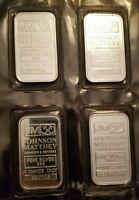 Johnson Matthey Assayers & Refiners 1 Troy Ounce Fine Silver Bars