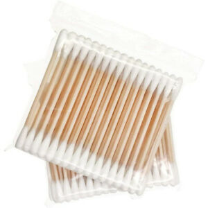 Bamboo Cotton Buds Wood Natural Biodegradable Cotton Swabs Qtips Ear Buds