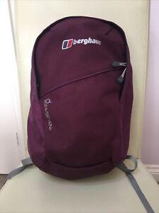 Berghaus 24/Seven 10L purple backpack/ rucksack