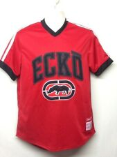 Ecko Unltd Rhino League Official Issue Jersey Large Embroidery Red Size S Q3