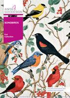 Anita Goodesign Song Birds Embroidery Machine Design CD NEW 156AGHD