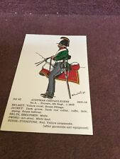 Card Rene North 42 Austrian Chevaulegers No 4