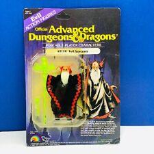 ADVANCED DUNGEONS DRAGONS VINTAGE ACTION FIGURE MOC LJN 1983 KELEK EVIL SORCERER