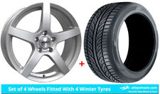 Focus Calibre Aluminium Wheels with Tyres