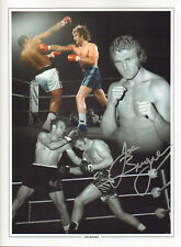 "BOXING LEGEND-PERSONALLY SIGNED 12x16"" MONTAGE PHOTO by JOE BUGNER-AFTAL/UACC RD"