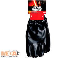 Kylo Ren Gloves Fancy Dress Star Wars Force Awakens Adults Costume Accessory New