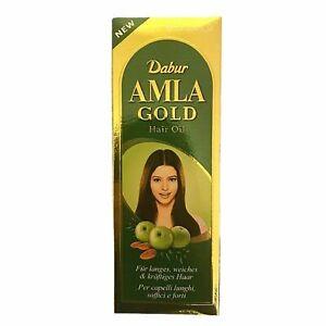 Dabur AMLA GOLD Strength Moisturise Natural Conditioner Split End Hair Oil 200ML