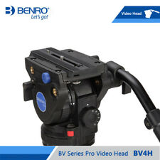 BENRO BV4H Video Head Hydraulic Fluid QR13 Quick Release Plate Aluminum