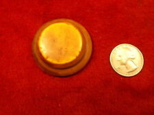 #49 of 50, LARGE OLD VTG ANTIQUE? BAKELITE BUTTON, FAUX BONE, OFF WHITE COLORED