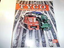 Tyco 1962-63 Ho Electric Trains Catalog Original Vintage Ln