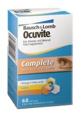 Bausch & Lomb Ocuvite Eye Supplement Complete - 60 Capsules