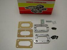 Weber Adapter for Suzuki Datsun Toyota Isuzu 32/36 38/38 to stock intake