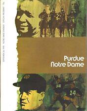 09-26-1970 PURDUE v. NOTRE DAME COLLEGE FOOTBALL PROGRAM