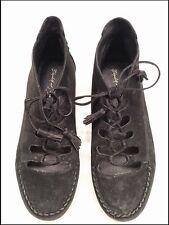 Vintage Black Leather Shoes