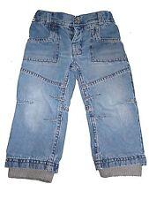 Topolino tolle Jeans Hose Gr. 86 mit grauer Innenhose !!