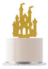 Gold Princess Castle Cake Decoration Topper  NEW