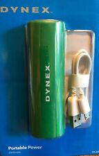 DYNEX Portable Power Charger Green , 2000mAh Android & Iphone Universal