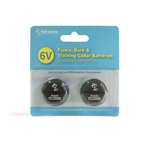 Aussie Pet Doors Replacement for PetSafe RFA-67 Battery 6V, 2 Pack