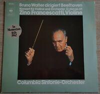 Beethoven Violinkonzert Zino Francescatti Bruno Walter CBS Stereo S 61 001