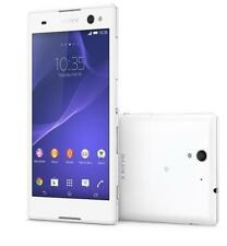 "New Unlocked Original Sony Xperia C3 Dual D2502 8GB 5.5"" GPS Smartphone White"