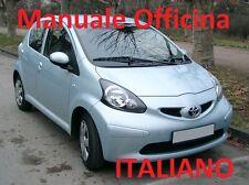TOYOTA AYGO (2005/2014) Manuale OFFICINA Riparazione ITALIANO