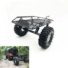 For 1/10 Axial D90 SCX10 CC01 TRX-4 RC Car Rock Crawler Trailer W/Tire DIY USA