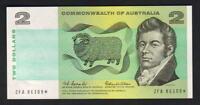 Australia R-81SF. (1966) $2 - Coombs/Wilson. STAR Note. 1st Prefix ZFA.. aU-UNC