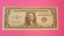 1935 G .. NO MOTTO ..  $1.00 ONE DOLLAR BLUE SEAL SILVER CERTIFICATE CU