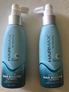 2x HAIRMAX~For Density~Acceler8 Hair Booster + Nutrients 4oz/118ml