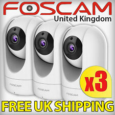 3x Foscam R2 1080P HD Video Recording CCTV Security IP Camera Wireless Home DDNS