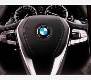 45mm BMW Logo Radnaben Emblem 45mm Plakette Felgenemblem selbstklebend.Neu+