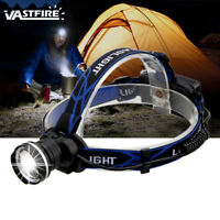 Zoom 10000LM T6 LED Headlamp Rechargeable Head Light Lamp USB Torch Flashlight