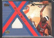 DARIUS MILES 2001/02 TOPPS XPECTATIONS CLASS CHALLENGE GAME USED JERSEY SP $12