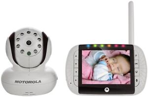 MOTOROLA MBP36 WIRELESS DIGITAL VIDEO Baby Monitor w/Night Vision & Remote *NEW*