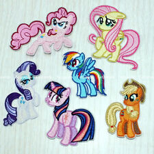 MY LITTLE PONY Patches iron/sew on Badge Applique Girls Craft kids diy Cloth