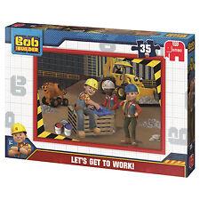 Ravensburger Jumbo Childrens Jigsaws Select From Drop Down Menu Bob The Builder 3 Boxs X 35pc