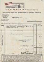 99734 Nordhausen - G.A. Hanewacker G.m.b.H. Kautabakfabrik. 1942