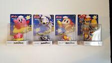 *NEW*Kirby Series amiibo - Complete NA Set Of 4 [Dedede, Metaknight, Waddle Dee]
