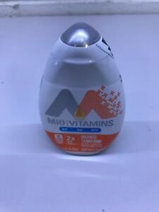 Set of 3 Mio Vitamins Orange Tangerine Naturally Flavored Water Enhancer 2X